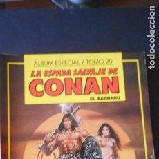 Cómics: ALBUM ESPECIAL LA ESPADA SALVAJE DE CONAN / TOMO 20 / C-1. Lote 277698158