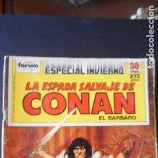 Cómics: ESPECIAL DE INVIERNO LA ESPADA SALVAJE DE CONAN / C-1. Lote 277698453