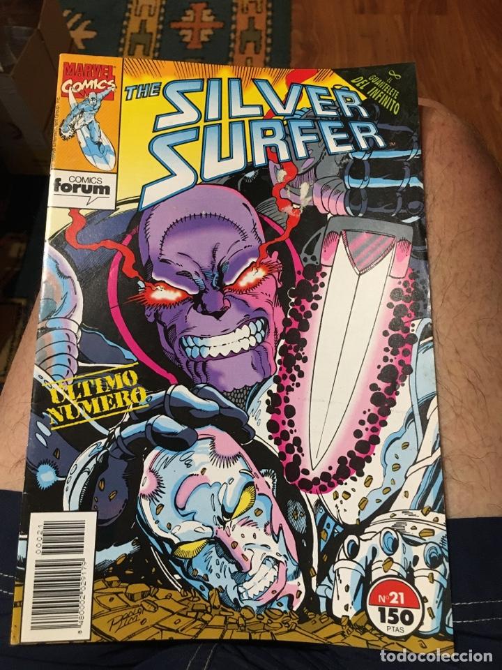 THE SILVER SURFER - NÚMERO 21 - FORUM (Tebeos y Comics - Forum - Silver Surfer)