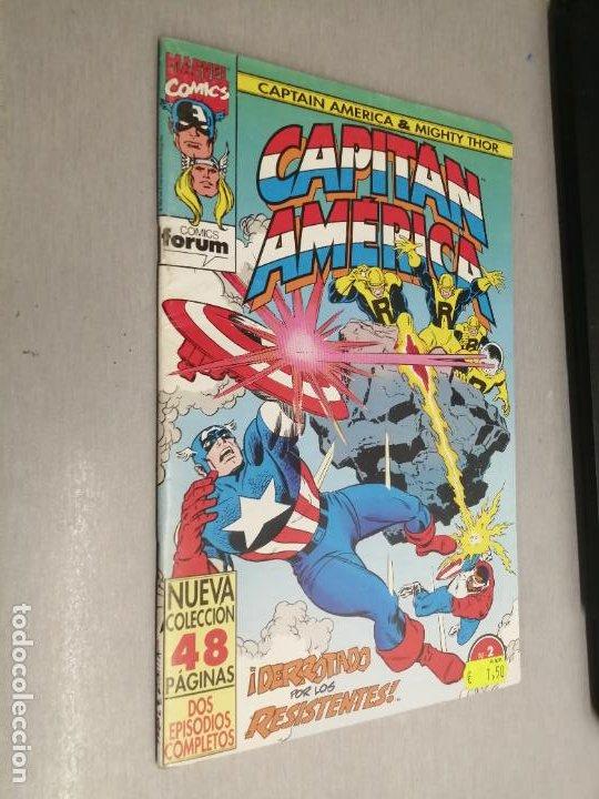 CAPITÁN AMÉRICA & MIGHTY THOR VOL. 2 Nº 2 / MARVEL - FORUM (Tebeos y Comics - Forum - Capitán América)