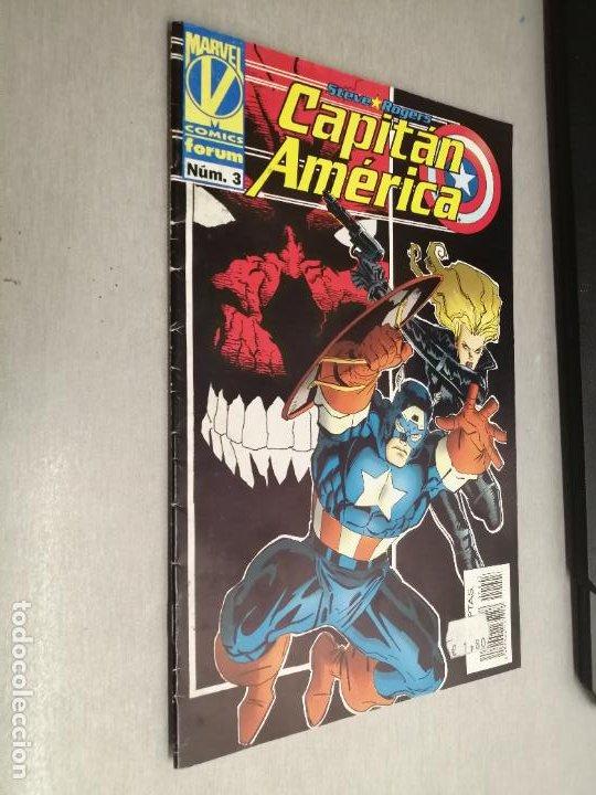 CAPITÁN AMÉRICA VOL. 3 Nº 3 / MARVEL - FORUM (Tebeos y Comics - Forum - Capitán América)