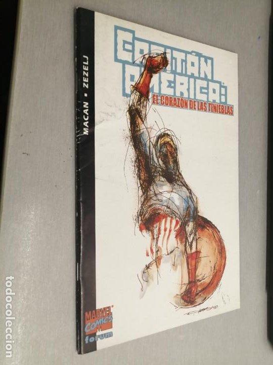 CAPITÁN AMÉRICA: EL CORAZÓN DE LAS TINIEBLAS / MACAN - ZEZELJ / MARVEL - FORUM (Tebeos y Comics - Forum - Capitán América)