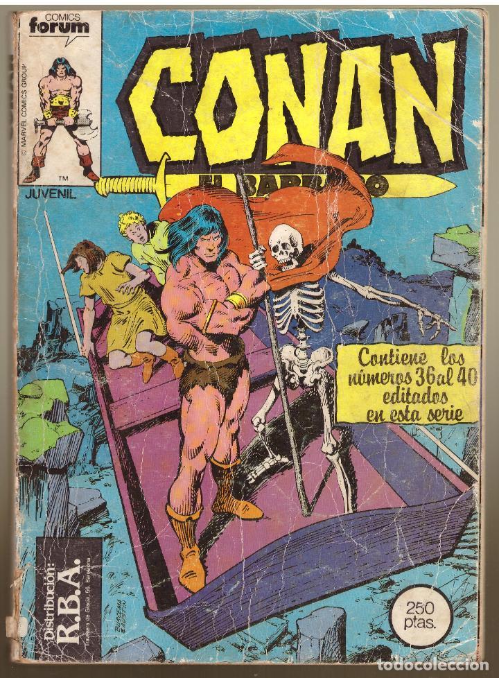 COMIC CONAN EL BARBARO: RETAPADO CON LOS NUMEROS 36, 37, 38, 39 Y 40 - COMICS FORUM (Tebeos y Comics - Forum - Conan)