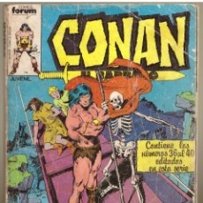 Cómics: COMIC CONAN EL BARBARO: RETAPADO CON LOS NUMEROS 36, 37, 38, 39 Y 40 - COMICS FORUM. Lote 277728418
