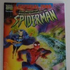"""Cómics: COMIC DE LAS HISTORIAS JAMÁS CONTADAS DE SPIDERMAN """"ENCUENTRO EXTRAÑO"""" (ESPECIAL 1999) - FORUM. Lote 277730473"""