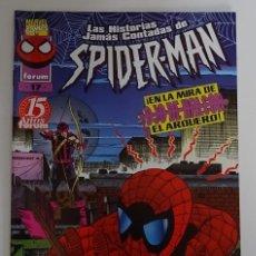 Cómics: COMIC DE LAS HISTORIAS JAMÁS CONTADAS DE SPIDERMAN (Nº 17) - FORUM. Lote 277730543