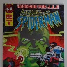 Cómics: COMIC DE LAS HISTORIAS JAMÁS CONTADAS DE SPIDERMAN (Nº 4) - FORUM. Lote 277730633