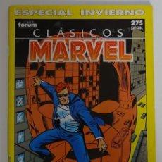 Cómics: COMIC DE CLÁSICOS MARVEL (ESPECIAL INVIERNO) - FORUM. Lote 277737368