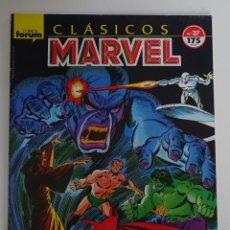 Cómics: COMIC DE CLÁSICOS MARVEL (Nº 37) - FORUM. Lote 277737548