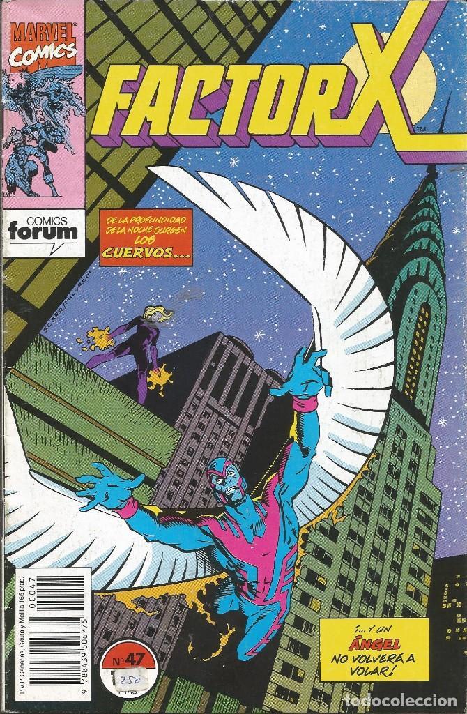 FORUM - FACTOR X Nº 47 AÑO 1989 BUEN ESTADO (Tebeos y Comics - Forum - Factor X)