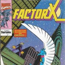 Cómics: FORUM - FACTOR X Nº 47 AÑO 1989 BUEN ESTADO. Lote 277750608