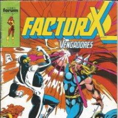 Cómics: FORUM - FACTOR X Nº 31 AÑO 1989 BUEN ESTADO. Lote 277750913