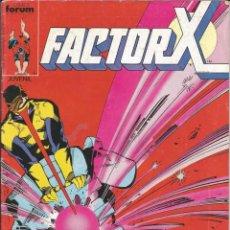Cómics: FORUM - FACTOR X Nº 14 AÑO 1989 BUEN ESTADO. Lote 277751563