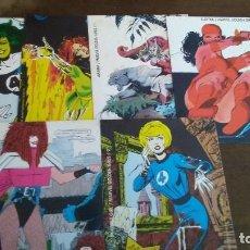 Cómics: MARVEL GOLDEN GIRLS - LOTE DE 6 TARJETAS COMICS FORUM. Lote 277823738