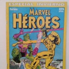 Cómics: MARVEL HÉROES - ESPECIAL INVIERNO. Lote 277832318