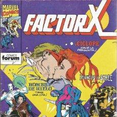 Cómics: FORUM - FACTOR X Nº 46 AÑO 1989 BUEN ESTADO. Lote 277858093