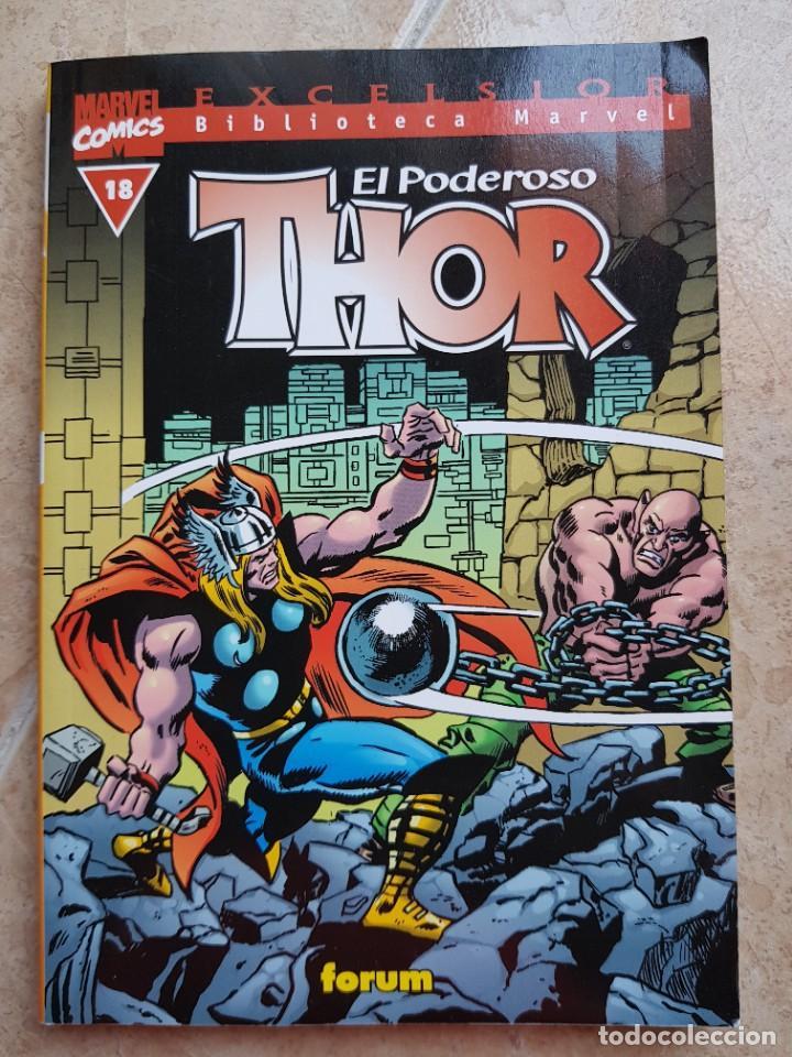 BIBLIOTECA MARVEL THOR NÚM. 18, B/N, FÓRUM (Tebeos y Comics - Forum - Thor)