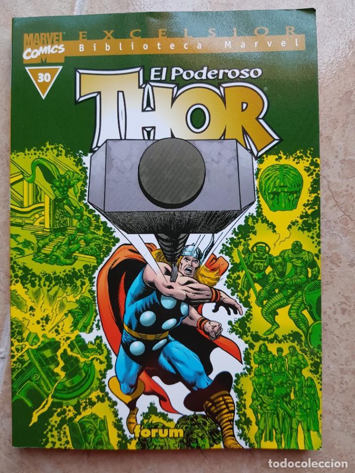 BIBLIOTECA MARVEL THOR NÚM. 30, B/N, FÓRUM (Tebeos y Comics - Forum - Thor)