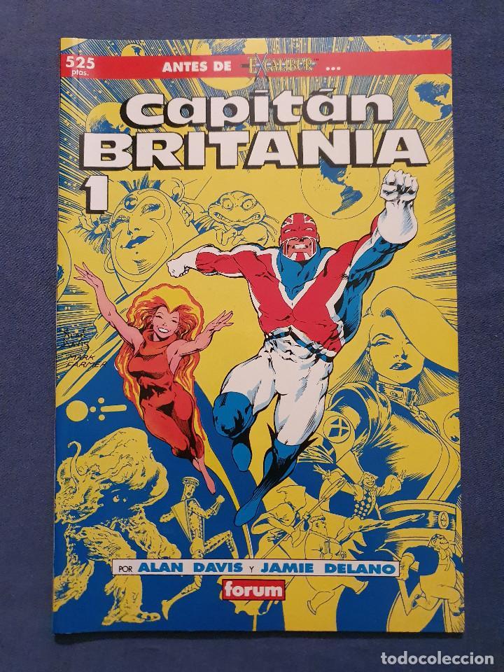 Cómics: CAPITAN BRITANIA # 1-2-3-4 (FORUM) - COMPLETA - COLECCION PRESTIGIO 19-20-21-23 - 1990 - Foto 2 - 278189998