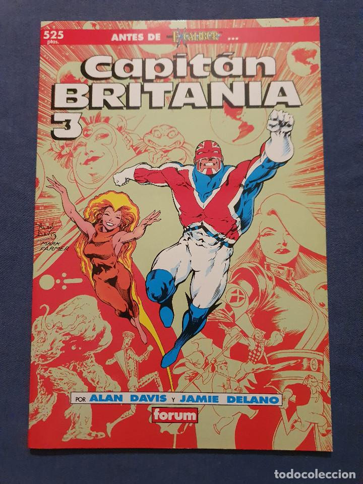 Cómics: CAPITAN BRITANIA # 1-2-3-4 (FORUM) - COMPLETA - COLECCION PRESTIGIO 19-20-21-23 - 1990 - Foto 5 - 278189998