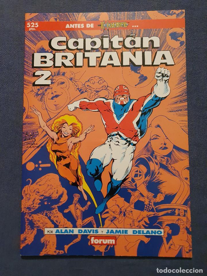 Cómics: CAPITAN BRITANIA # 1-2-3-4 (FORUM) - COMPLETA - COLECCION PRESTIGIO 19-20-21-23 - 1990 - Foto 8 - 278189998