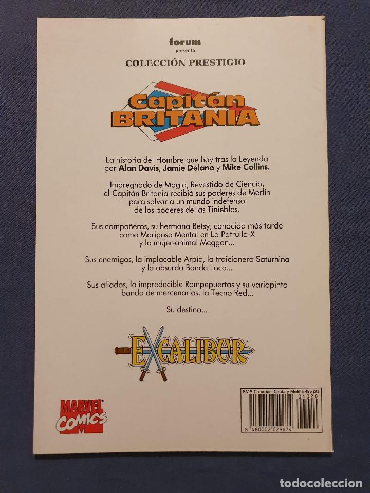 Cómics: CAPITAN BRITANIA # 1-2-3-4 (FORUM) - COMPLETA - COLECCION PRESTIGIO 19-20-21-23 - 1990 - Foto 9 - 278189998