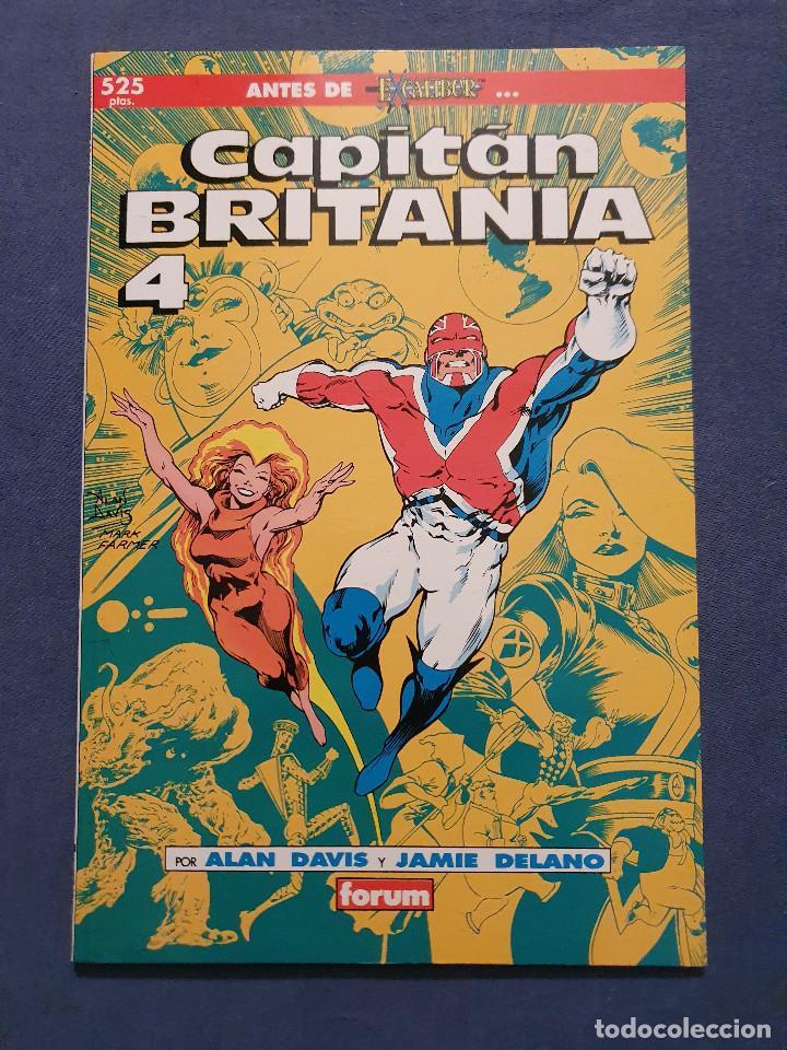 Cómics: CAPITAN BRITANIA # 1-2-3-4 (FORUM) - COMPLETA - COLECCION PRESTIGIO 19-20-21-23 - 1990 - Foto 11 - 278189998