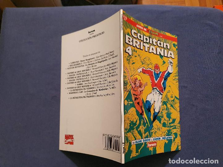 Cómics: CAPITAN BRITANIA # 1-2-3-4 (FORUM) - COMPLETA - COLECCION PRESTIGIO 19-20-21-23 - 1990 - Foto 13 - 278189998