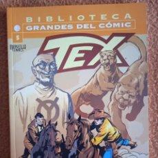 Cómics: BIBLIOTECA GRANDES DEL COMIC TEX 5. Lote 278266503