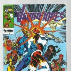 Cómics: LOS VENGADORES 130, 1993, FORUM, MUY BUEN ESTADO. Lote 278274428