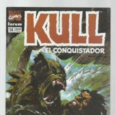 Cómics: KULL 14, 1997, FORUM, MUY BUEN ESTADO. Lote 278275003
