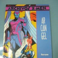 Cómics: ARCHIVOS X-MEN ARCANGEL. Lote 278291693