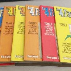 Cómics: HÉROES RETURN: LOS 4 FANTÁSTICOS VOL. 3 COMPLETO 34 NÚMEROS EN 7 RETAPADOS / MARVEL - FORUM. Lote 278341118