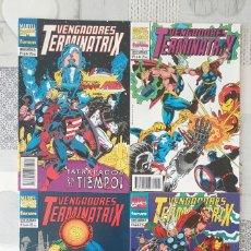 Cómics: VENGADORES: TERMINATRIX DE MARK GRUENWALD. SL DE 4 COMICS. COMICS FORUM 1994. Lote 278376898