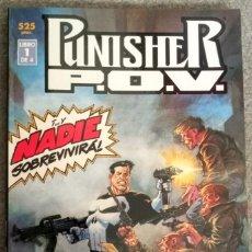 Cómics: PUNISHER P.O.V. (4 NÚMEROS COMPLETA). Lote 278377523