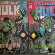 Cómics: EL INCREÍBLE HULK: FUTURO IMPERFECTO (2 NÚMEROS COMPLETA). Lote 278378093