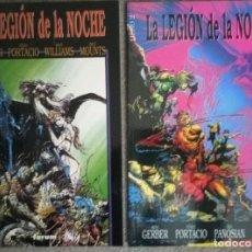 Cómics: LA LEGIÓN DE LA NOCHE (2 NÚMEROS COMPLETA). Lote 278378618