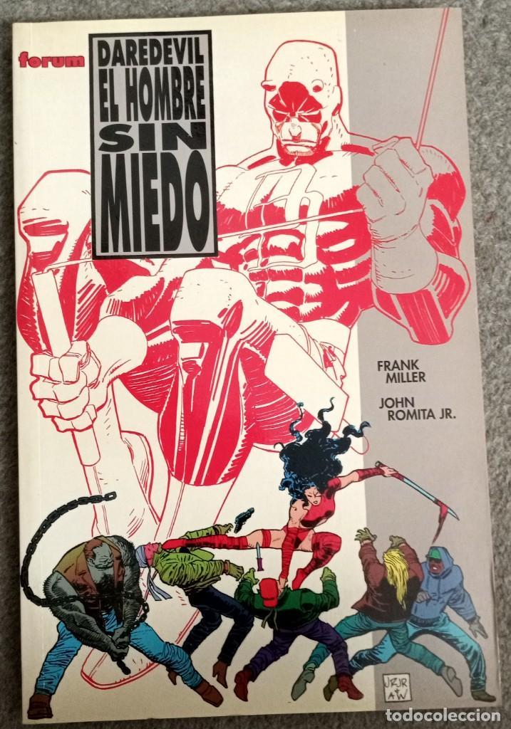 DAREDEVIL: EL HOMBRE SIN MIEDO POR FRANK MILLER Y JOHN ROMITA JR. (Tebeos y Comics - Forum - Prestiges y Tomos)
