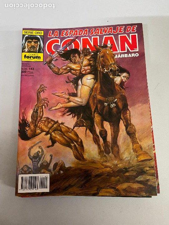 FORUM LA ESPADA SALVAJE DE CONAN NUMERO 143 MUY BUEN ESTADO (Tebeos y Comics - Forum - Conan)