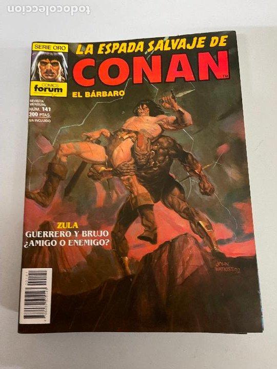 FORUM LA ESPADA SALVAJE DE CONAN NUMERO 141 MUY BUEN ESTADO (Tebeos y Comics - Forum - Conan)