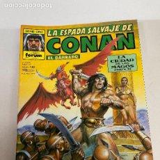Cómics: FORUM LA ESPADA SALVAJE DE CONAN NUMERO 140 MUY BUEN ESTADO. Lote 278393553