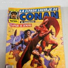 Cómics: FORUM LA ESPADA SALVAJE DE CONAN NUMERO 139 MUY BUEN ESTADO. Lote 278393658