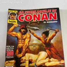 Cómics: FORUM LA ESPADA SALVAJE DE CONAN NUMERO 138 MUY BUEN ESTADO. Lote 278393738