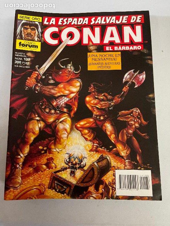 FORUM LA ESPADA SALVAJE DE CONAN NUMERO 133 MUY BUEN ESTADO (Tebeos y Comics - Forum - Conan)