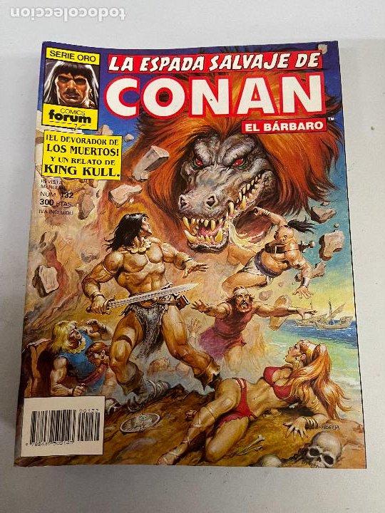 FORUM LA ESPADA SALVAJE DE CONAN NUMERO 132 MUY BUEN ESTADO (Tebeos y Comics - Forum - Conan)