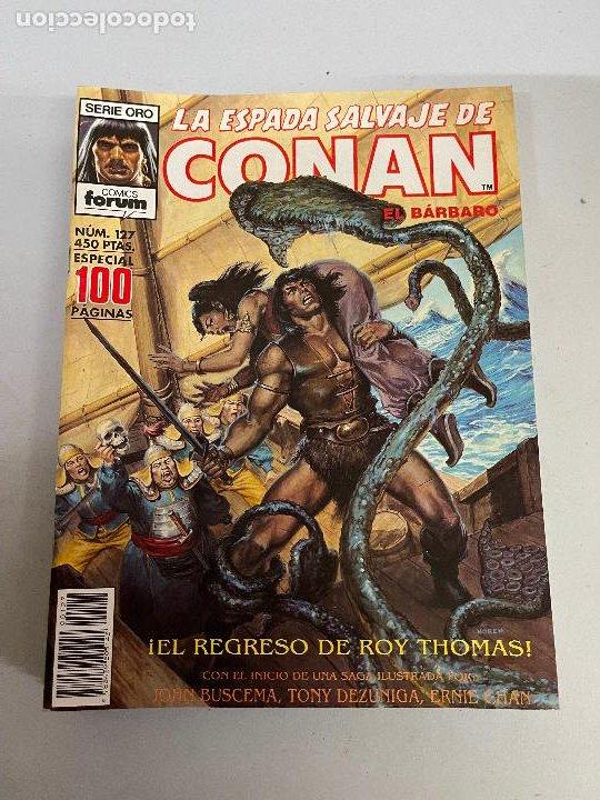FORUM LA ESPADA SALVAJE DE CONAN NUMERO 127 MUY BUEN ESTADO (Tebeos y Comics - Forum - Conan)