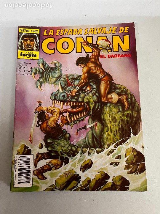 FORUM LA ESPADA SALVAJE DE CONAN NUMERO 124 MUY BUEN ESTADO (Tebeos y Comics - Forum - Conan)