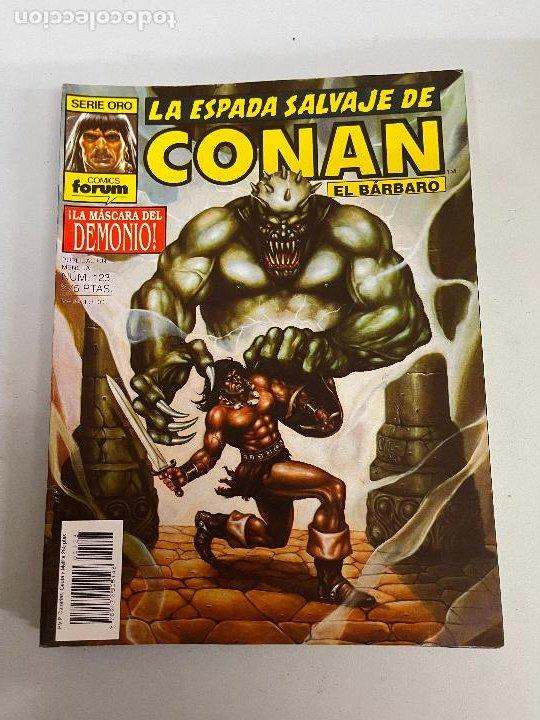 FORUM LA ESPADA SALVAJE DE CONAN NUMERO 123 MUY BUEN ESTADO (Tebeos y Comics - Forum - Conan)