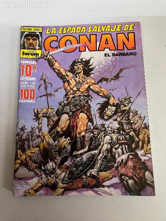 FORUM LA ESPADA SALVAJE DE CONAN NUMERO 122 MUY BUEN ESTADO (Tebeos y Comics - Forum - Conan)