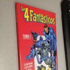 Cómics: LOS 4 FANTÁSTICOS VOL. 4 TOMO 1: RETAPADO CON LOS NÚMEROS 1 A 5 / MARVEL - FORUM. Lote 278396778